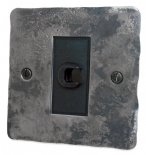 Flat Plate Rustic 20 Amp Switches